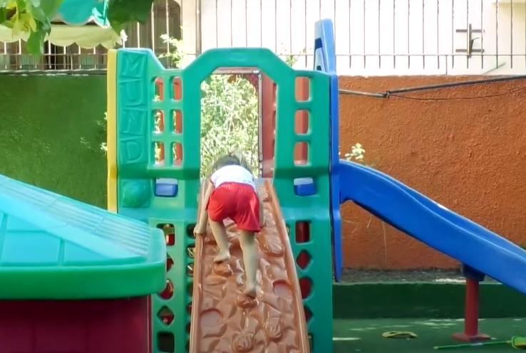 [Vídeo] Veja como está sendo o retorno às atividades presenciais no ensino infantil em Vitória
