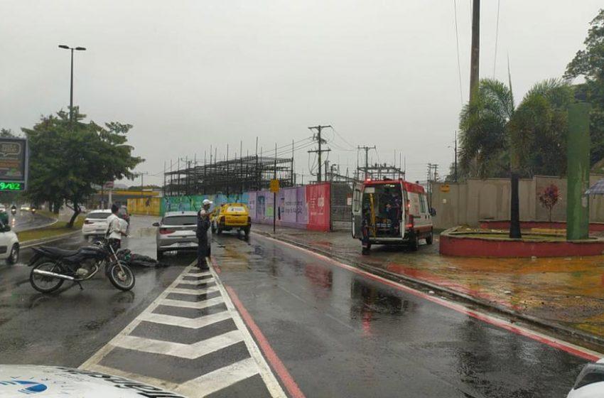 Guarda Municipal de Vitória registra 11 acidentes de trânsito desde o início da chuva