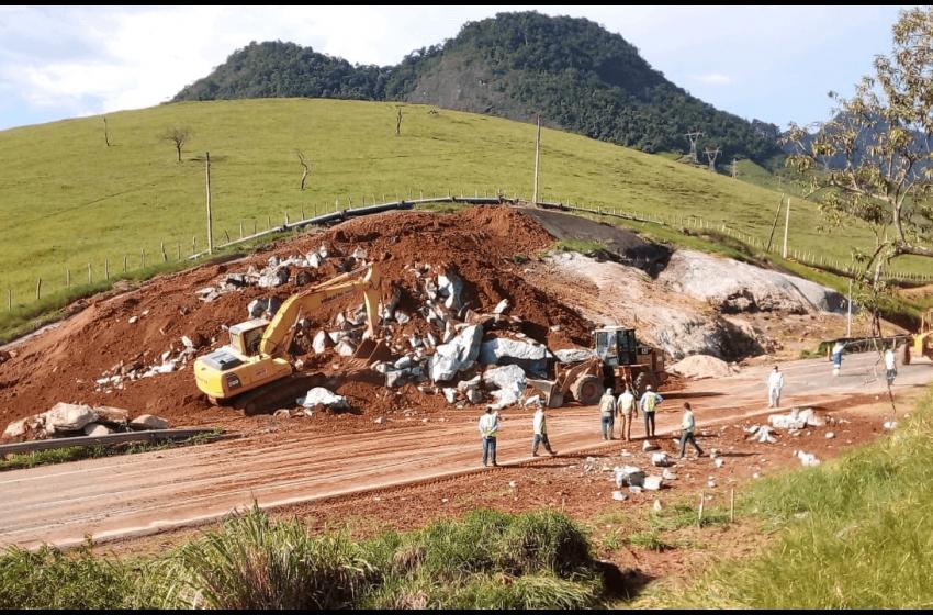 BR-101: trecho entre Guarapari e Anchieta será interditado para detonação de rochas