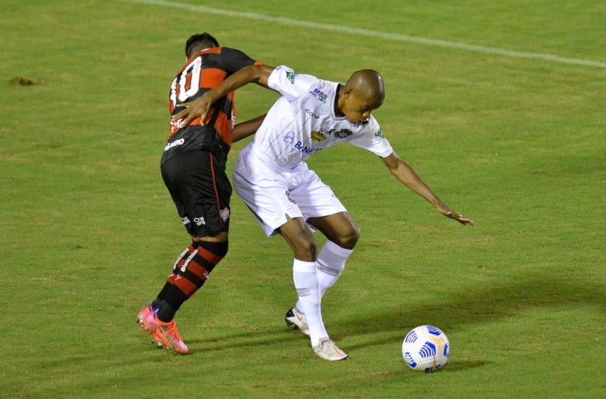 2×0: Rio Branco leva dois gols em três minutos e cai para o Vitória-BA na Copa do Brasil