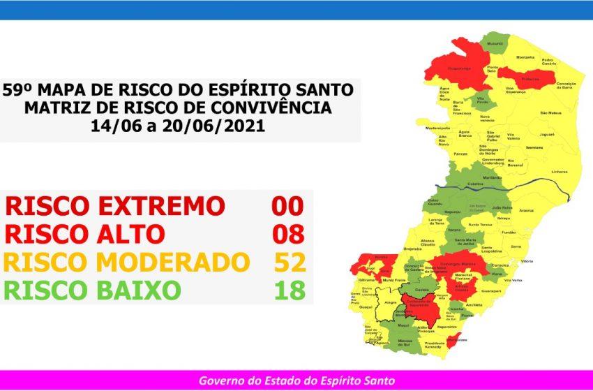 Grande Vitória não tem mais municípios em risco alto para Covid-19