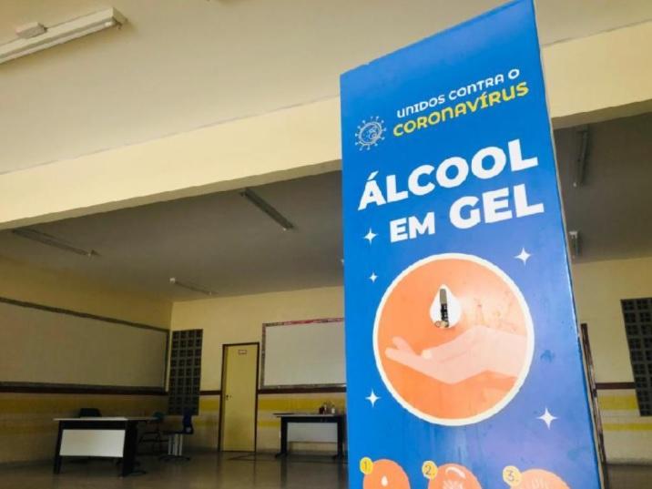 Na Serra, alunos do 6° ao 9° ano voltam às aulas em formato híbrido na segunda (14)