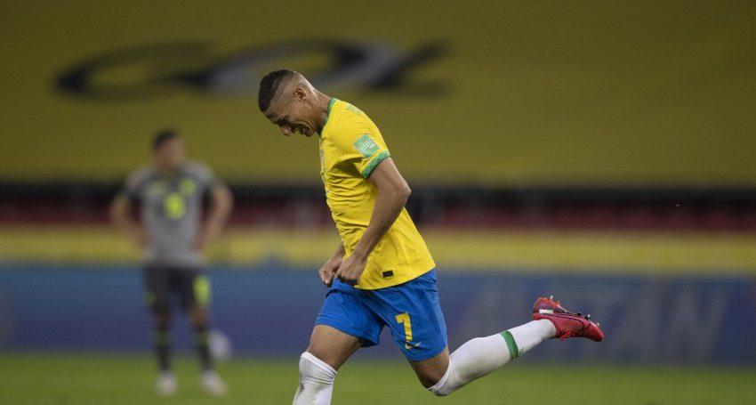 Com gol do capixaba Richarlison, Brasil vence Equador pelas Eliminatórias da Copa 2022