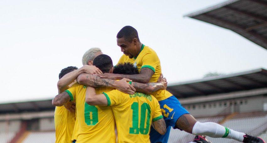 Brasil vence a Sérvia por 3 a 0 no último jogo antes das Olimpíadas de Tóquio