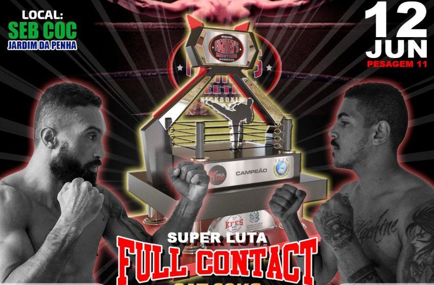Vitória recebe Campeonato internacional de Kickboxing no próximo sábado (12)