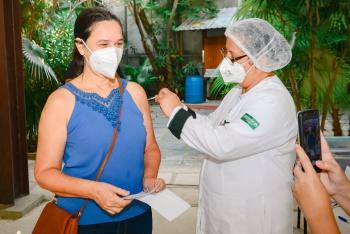ES tem 28,70% da população vacinada com a primeira dose contra a Covid-19