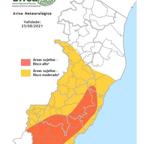 Umidade relativa do ar pode chegar a 12% em parte da Grande Vitória e da Região Sul, diz Incaper