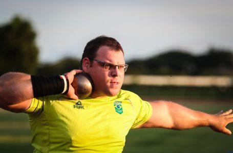 Darlan Romani é finalista no arremesso de peso