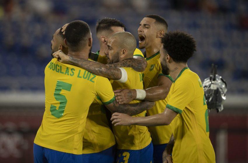 2×1: Brasil vence a Espanha na prorrogação e fatura o bicampeonato olímpico de futebol masculino