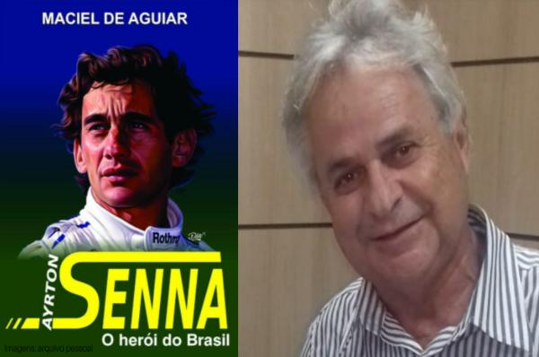 """MovNews entrevista escritor capixaba Maciel de Aguiar após sua recente obra """"Ayrton Senna – O Herói do Brasil"""""""