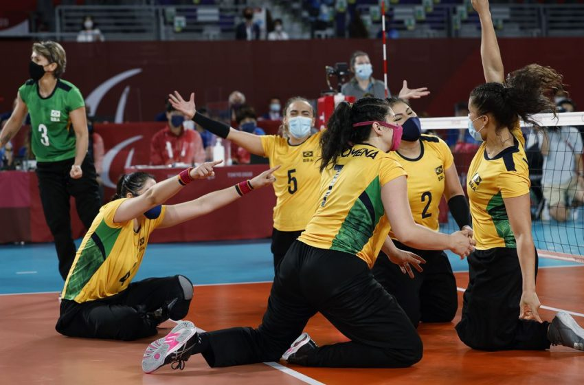 Vôlei brasileiro feminino leva o bronze na Paralimpíada de Tóquio