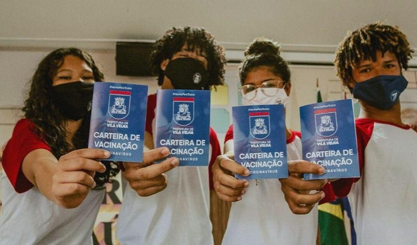 Alunos do ensino fundamental da rede municipal serão vacinados em Vila Velha
