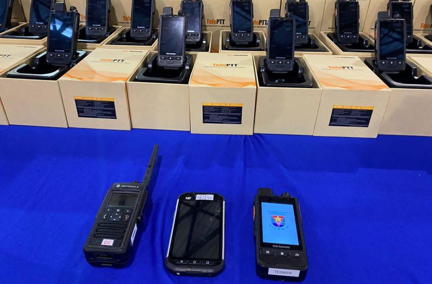 Guarda Municipal de Vitória recebe radiocomunicadores, viatura e mais equipamentos