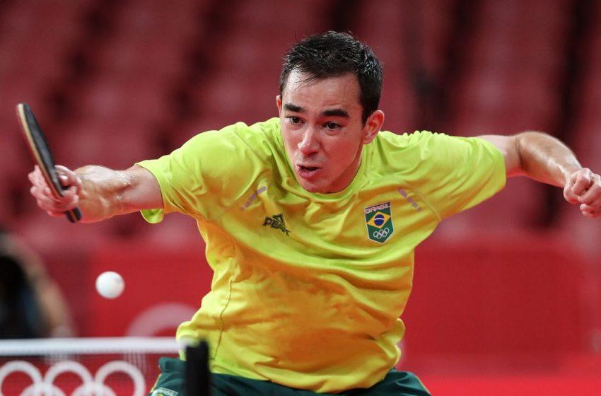 Tênis de mesa: Calderano está nas semifinais do 1º torneio pós-Tóquio