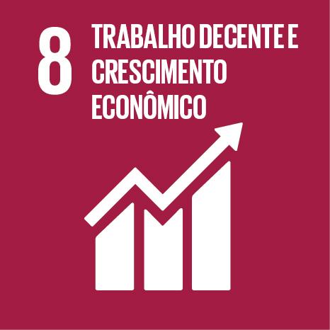 Agenda 2030 da ONU – Os Objetivos do Desenvolvimento Sustentável – ODS 8: promover o crescimento econômico sustentado, inclusivo e sustentável, emprego pleno e produtivo, e trabalho decente para todos