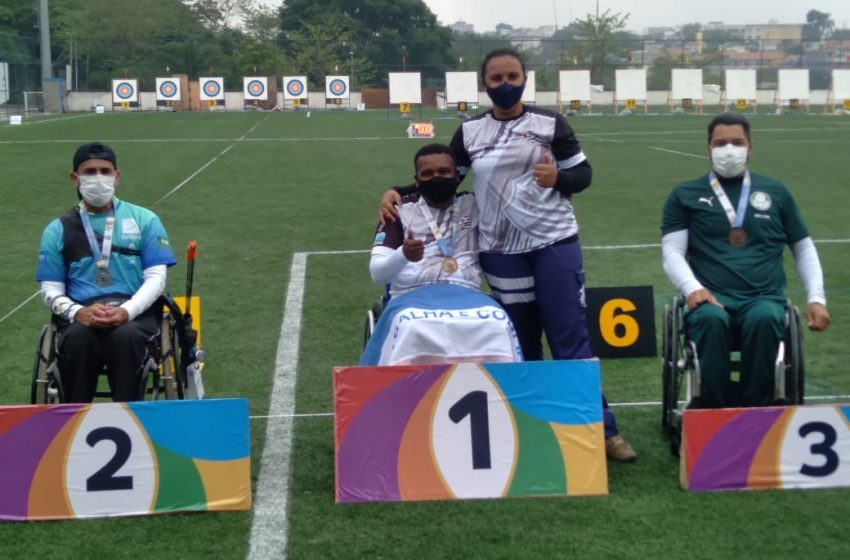 Atleta paralímpico capixaba de tiro com arco é campeão brasileiro e consegue vaga permanente na seleção nacional